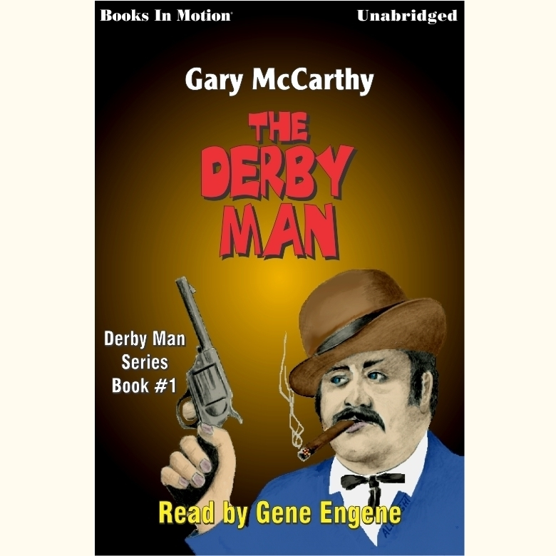 Printable The Derby Man Audiobook Cover Art