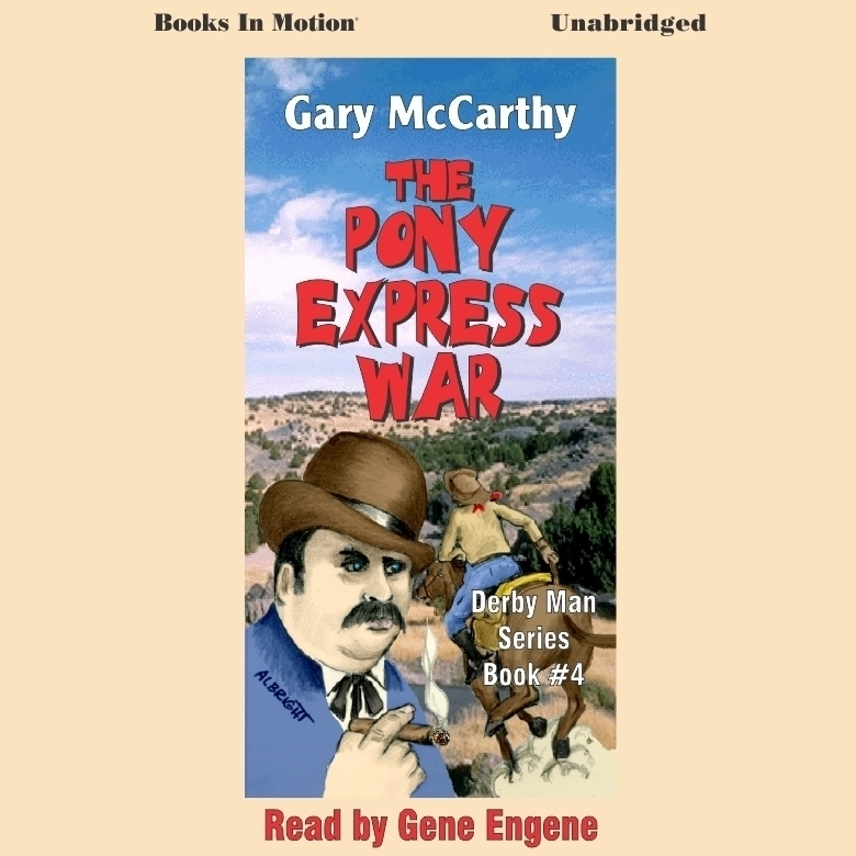 Printable The Pony Express War Audiobook Cover Art