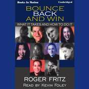Bounce Back And Win Audiobook, by Roger Fritz