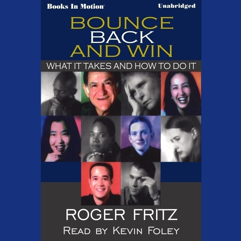 Printable Bounce Back And Win Audiobook Cover Art
