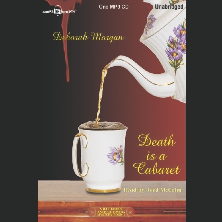 Printable Death is a Cabaret Audiobook Cover Art