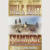 Stampede Audiobook, by Will C. Knott
