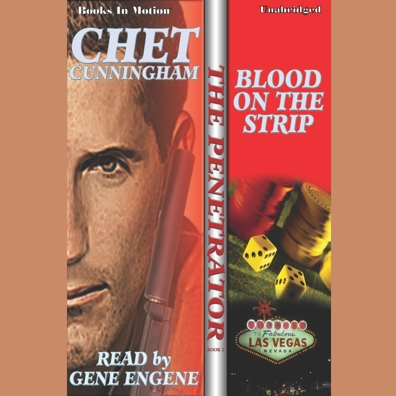 Printable Blood On The Strip Audiobook Cover Art