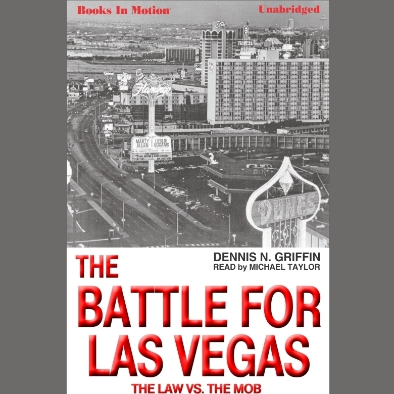 Printable The Battle For Las Vegas Audiobook Cover Art