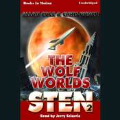 Sten: The Wolf Worlds Audiobook, by Allan Cole