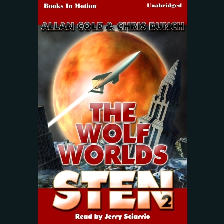 Printable Sten: The Wolf Worlds Audiobook Cover Art