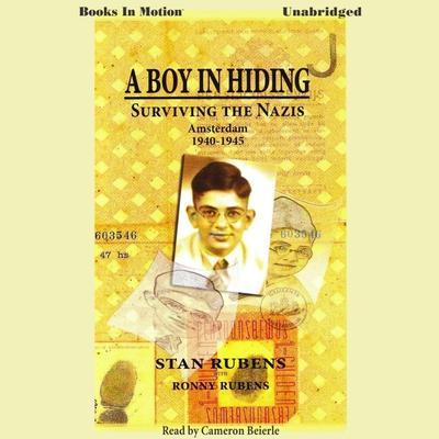A Boy In Hiding Audiobook, by Stan Rubens