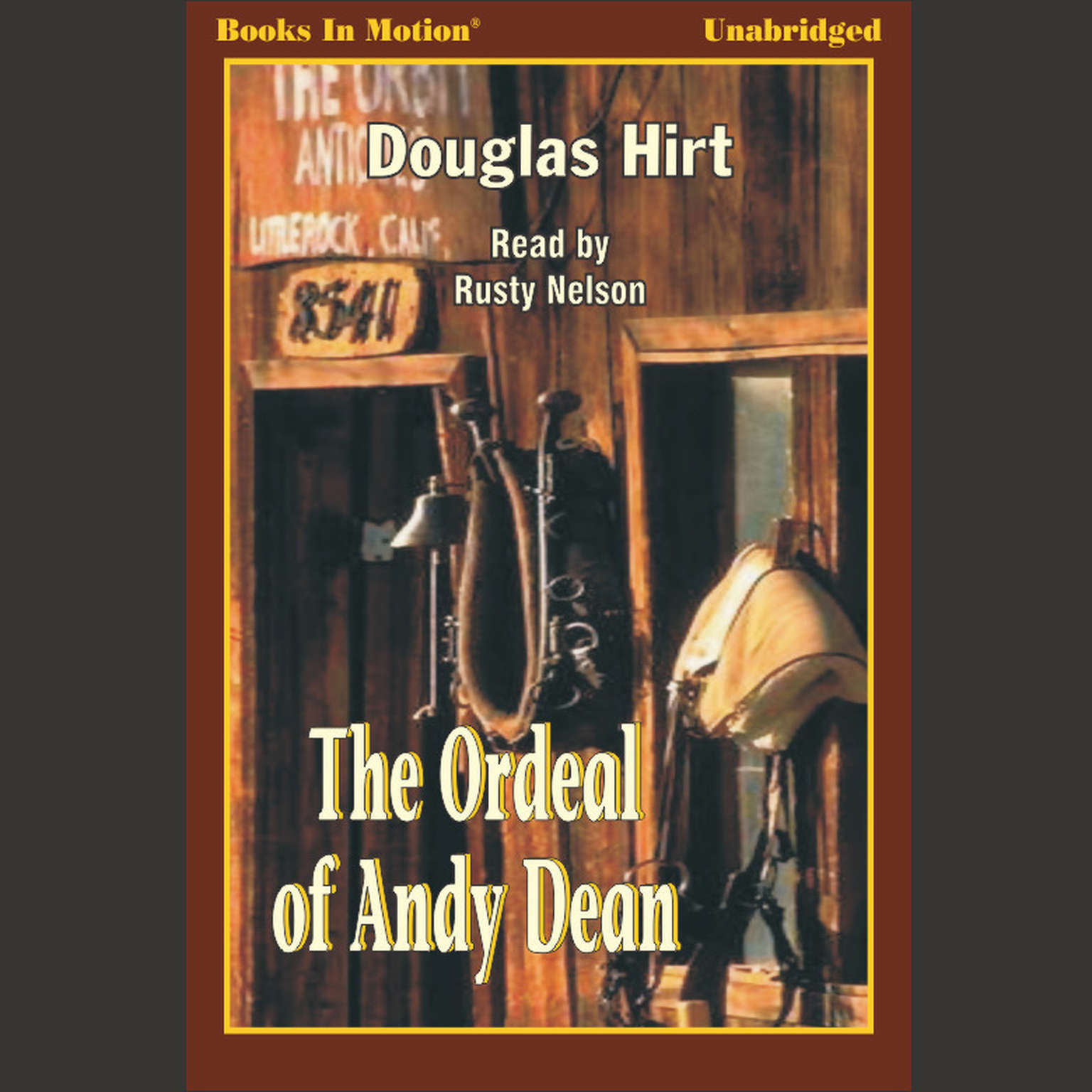 Printable The Ordeal of Andy Dean Audiobook Cover Art