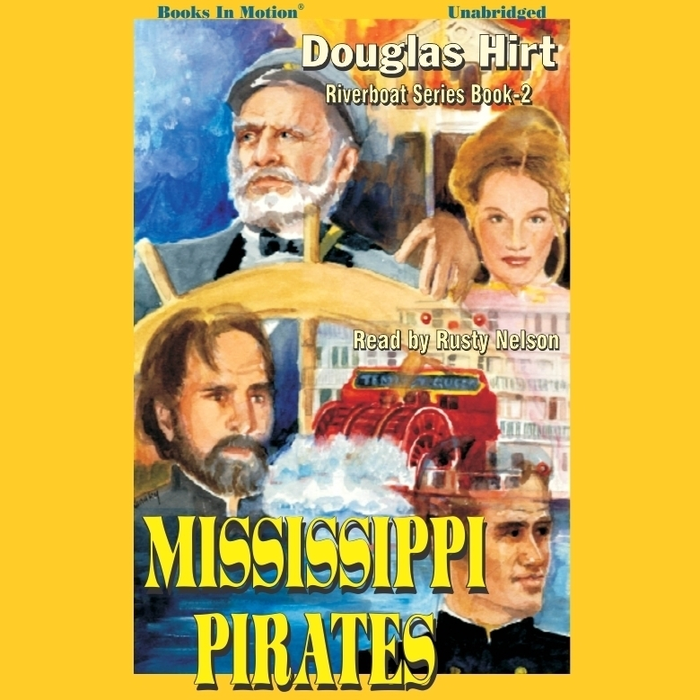 Printable Mississippi Pirates Audiobook Cover Art