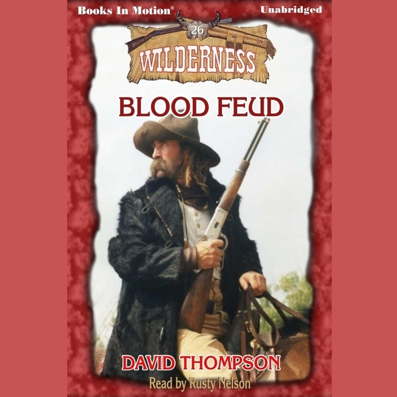 Printable Blood Feud Audiobook Cover Art