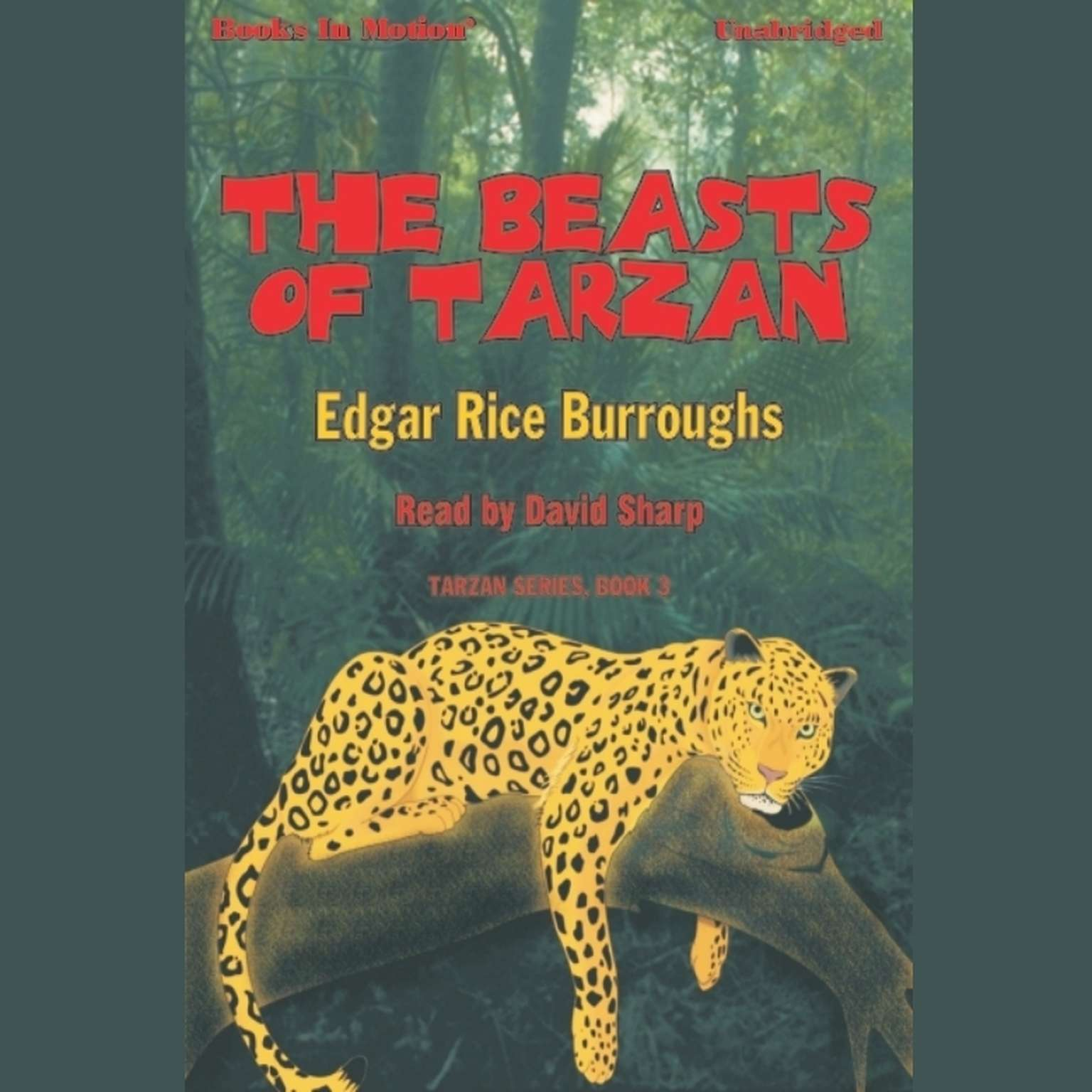 The Beasts Of Tarzan Audiobook, by Edgar Rice Burroughs