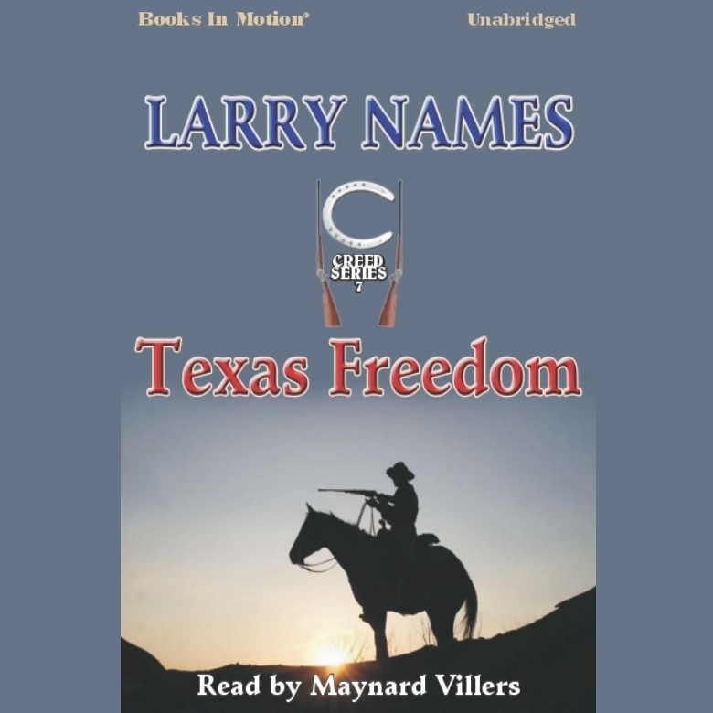Printable Texas Freedom Audiobook Cover Art