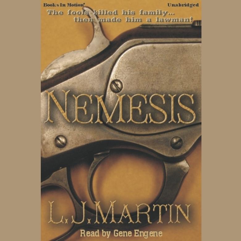 Printable Nemesis Audiobook Cover Art