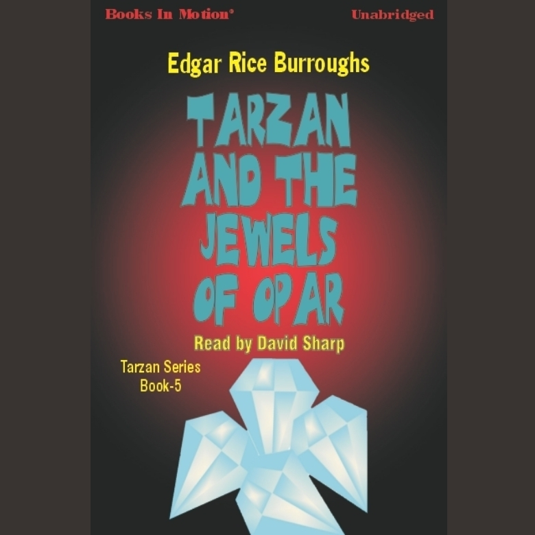 Printable Tarzan And The Jewels Of Opar Audiobook Cover Art