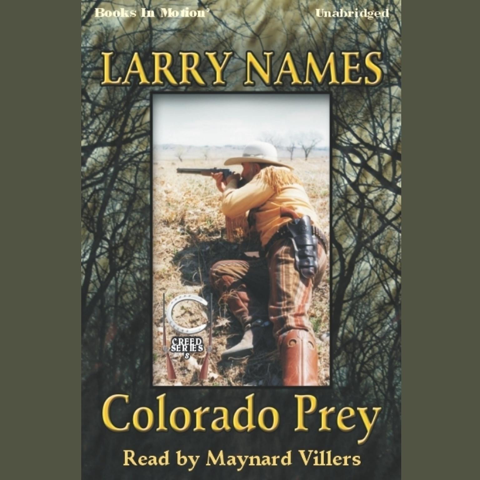 Colorado Prey Audiobook, by Larry Names