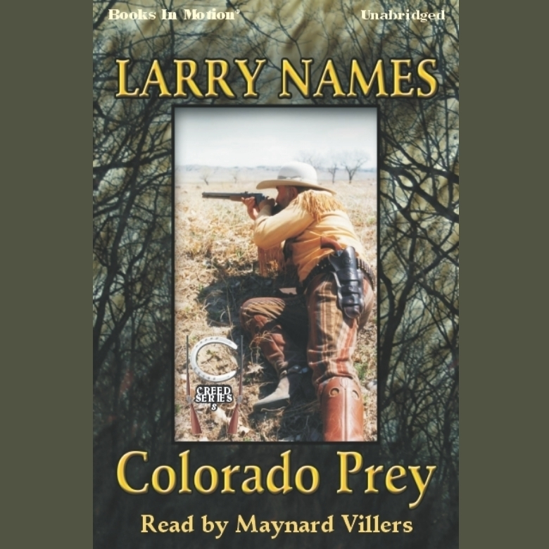 Printable Colorado Prey Audiobook Cover Art