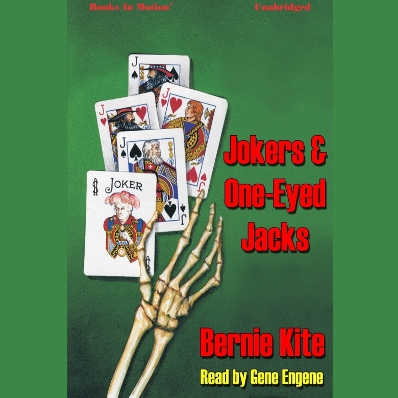 Printable Jokers And One-Eyed Jacks Audiobook Cover Art