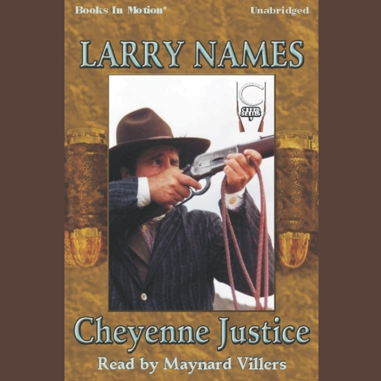 Printable Cheyenne Justice Audiobook Cover Art