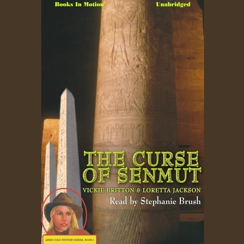 Printable The Curse Of Senmut Audiobook Cover Art