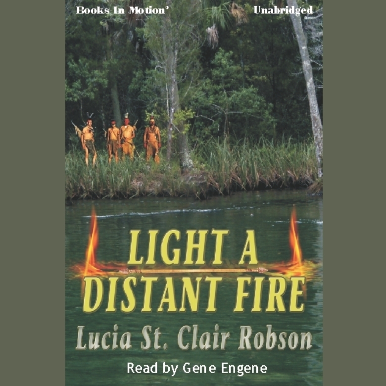 Printable Light A Distant Fire Audiobook Cover Art