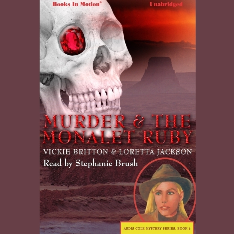 Printable Murder And The Monalet Ruby Audiobook Cover Art