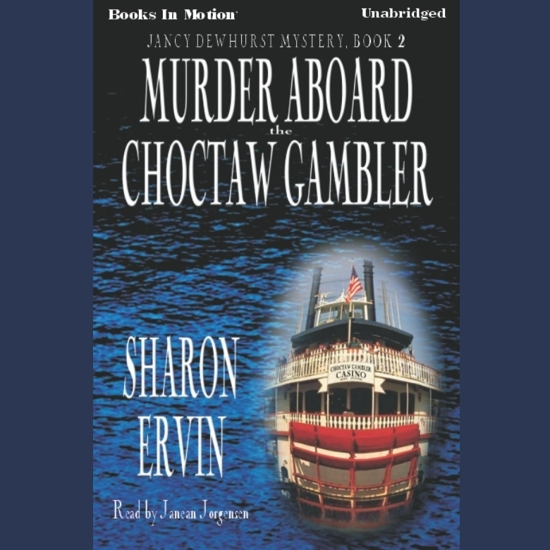 Printable Murder Aboard The Choctaw Gambler Audiobook Cover Art