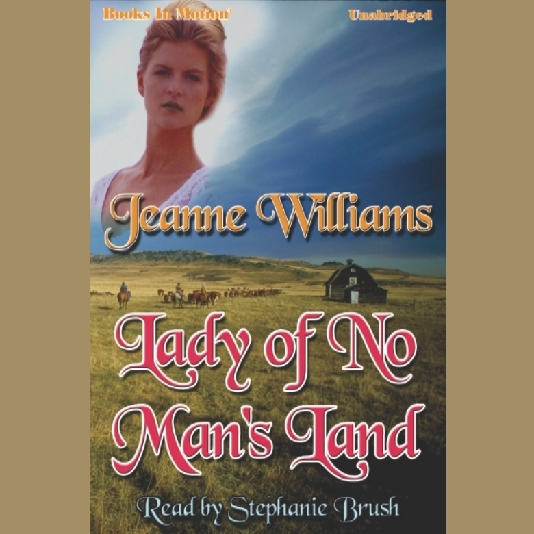 Printable Lady Of No-Mans's Land Audiobook Cover Art