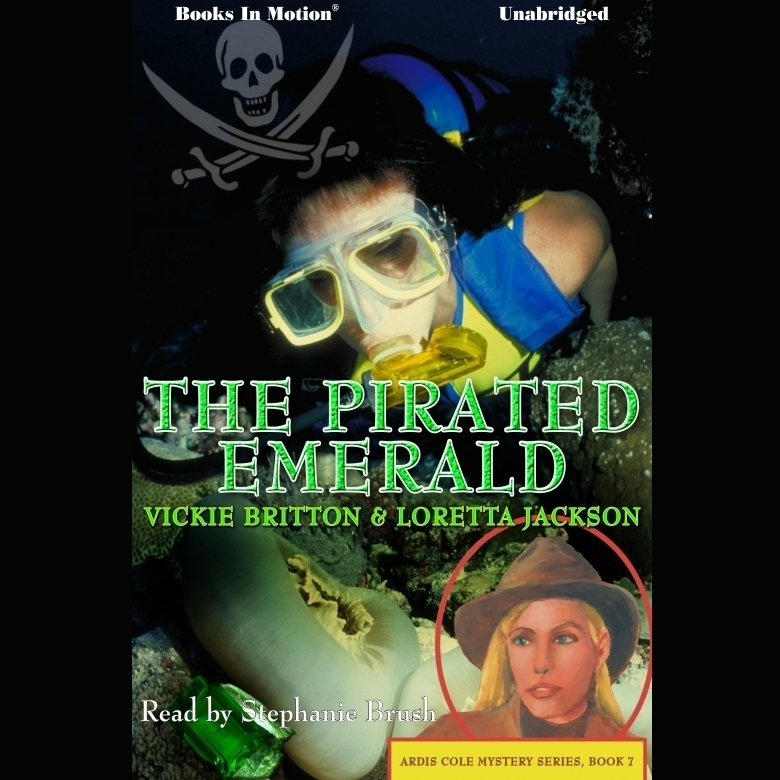 Printable The Pirated Emerald Audiobook Cover Art