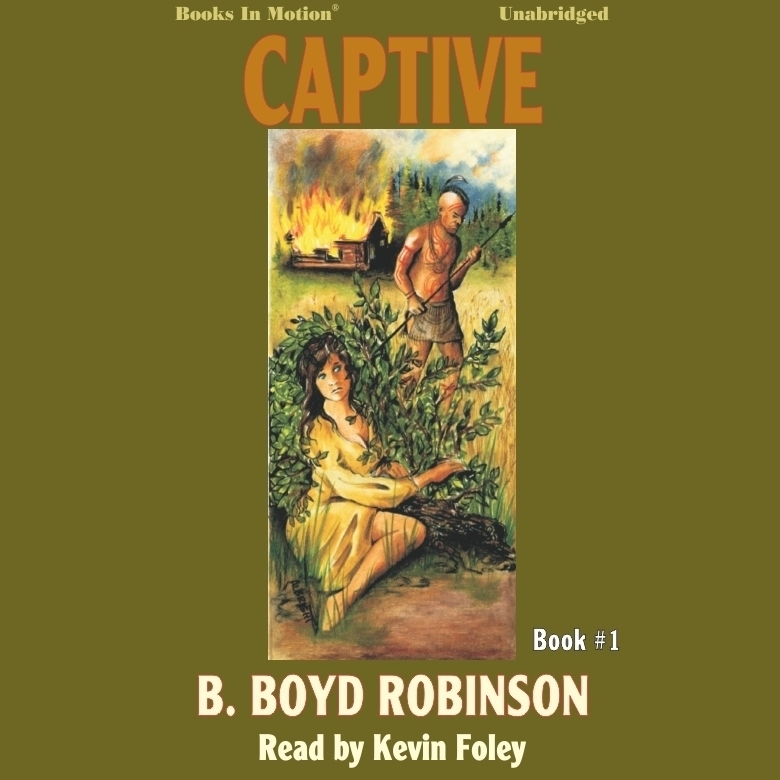 Printable Captive Audiobook Cover Art