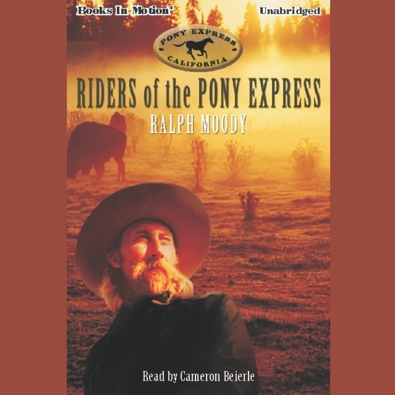 Printable Riders Of The Pony Express Audiobook Cover Art