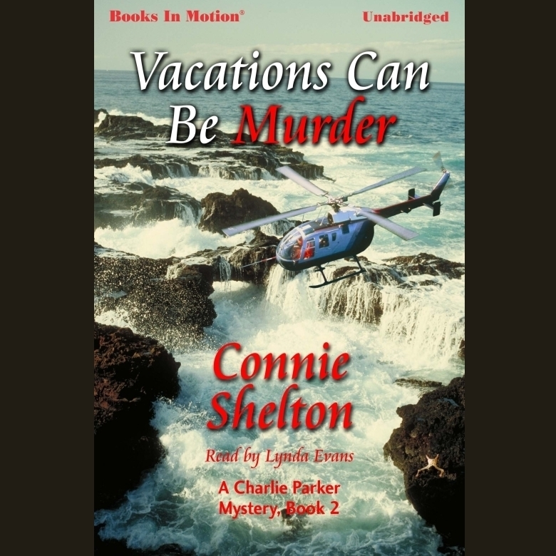 Printable Vacations Can Be Murder Audiobook Cover Art
