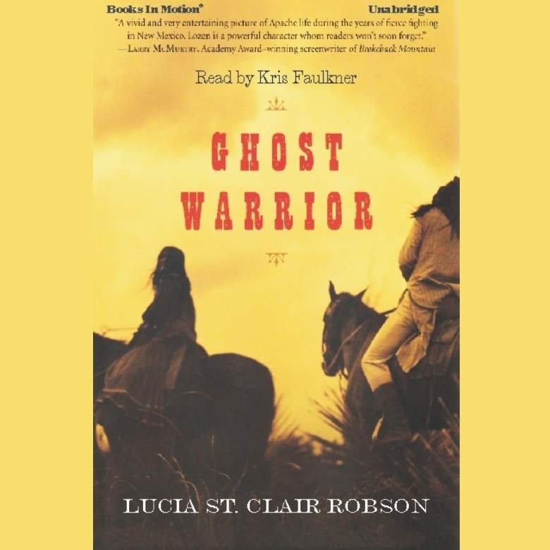 Printable Ghost Warrior Audiobook Cover Art
