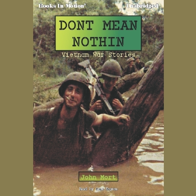 Printable Dont Mean Nothin Audiobook Cover Art