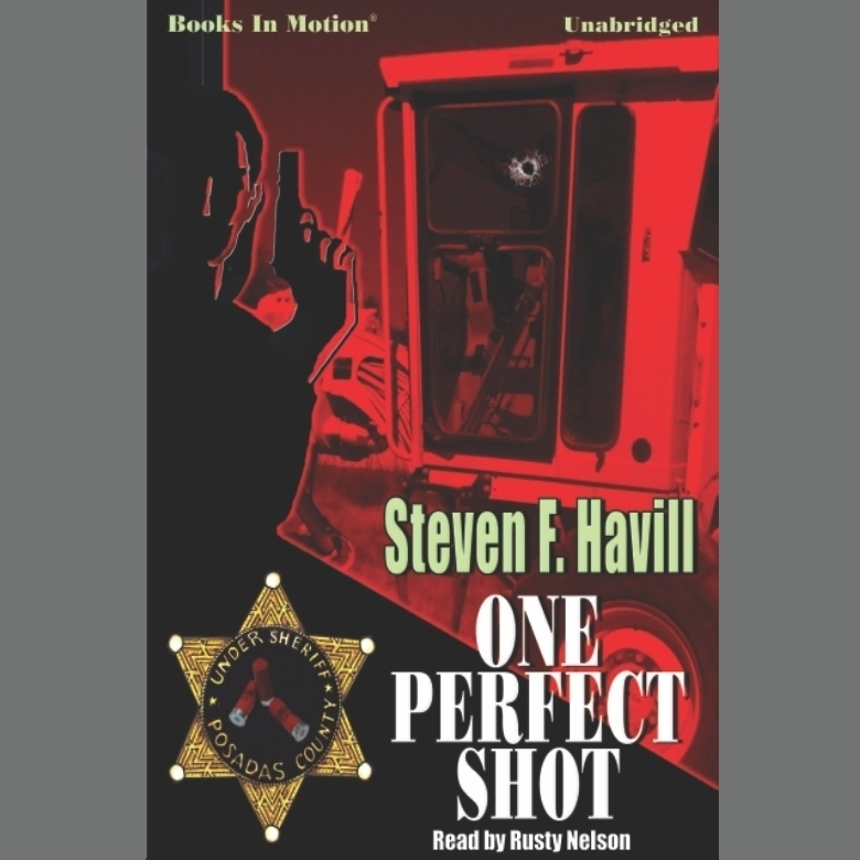 Printable One Perfect Shot Audiobook Cover Art