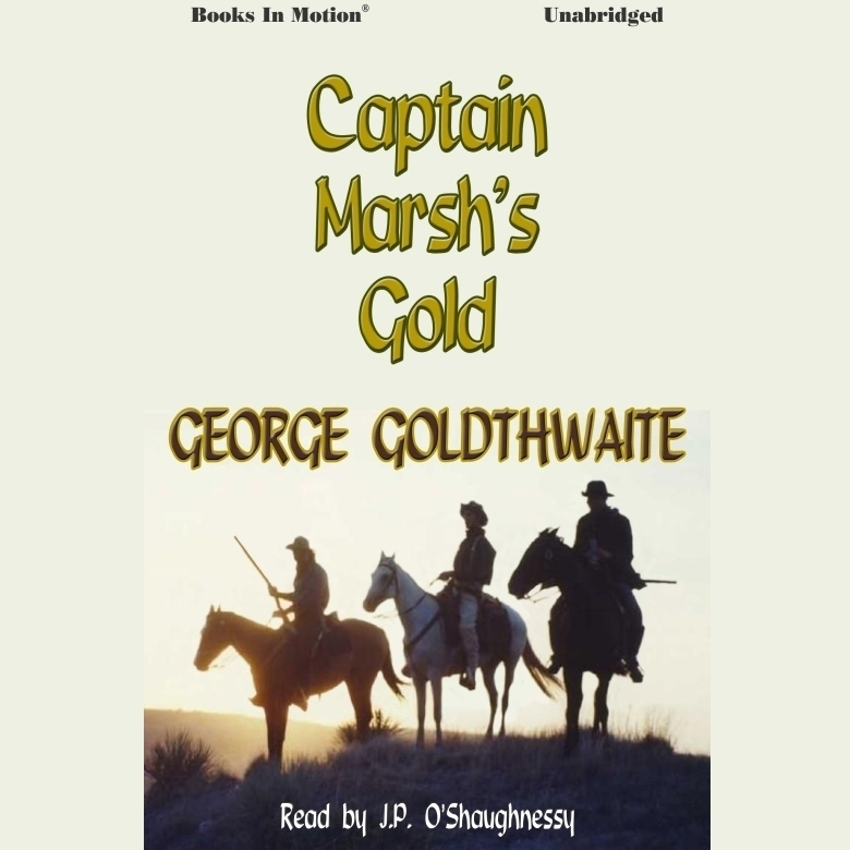Printable Captain Marsh's Gold Audiobook Cover Art
