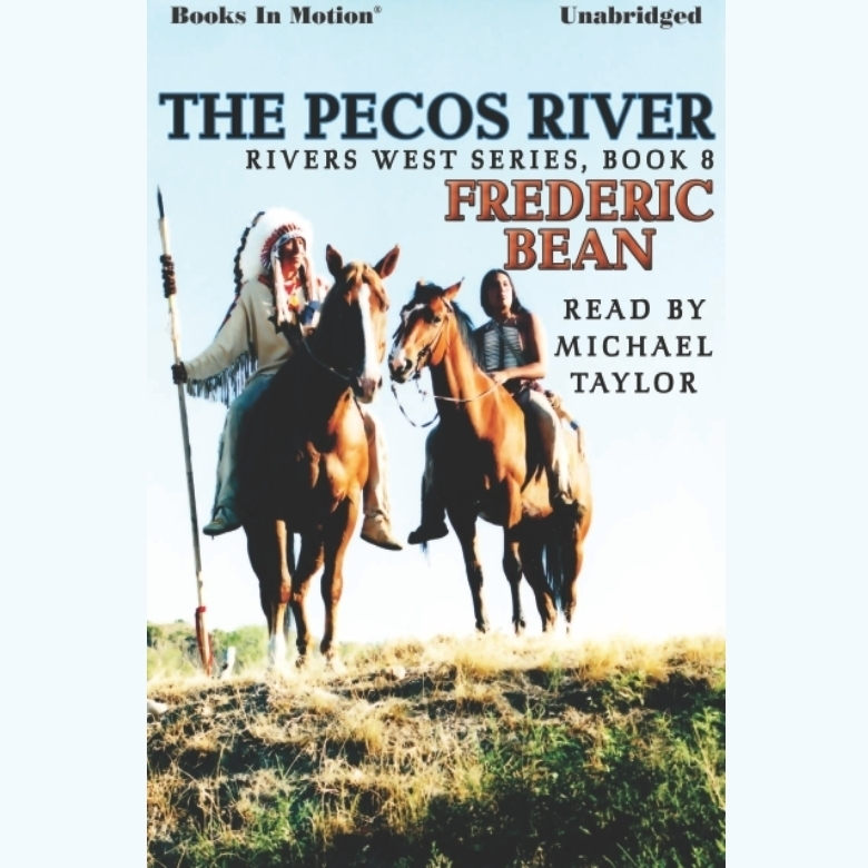 Printable The Pecos River Audiobook Cover Art