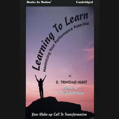 Learning To Learn Audiobook, by D. Trinidad Hunt