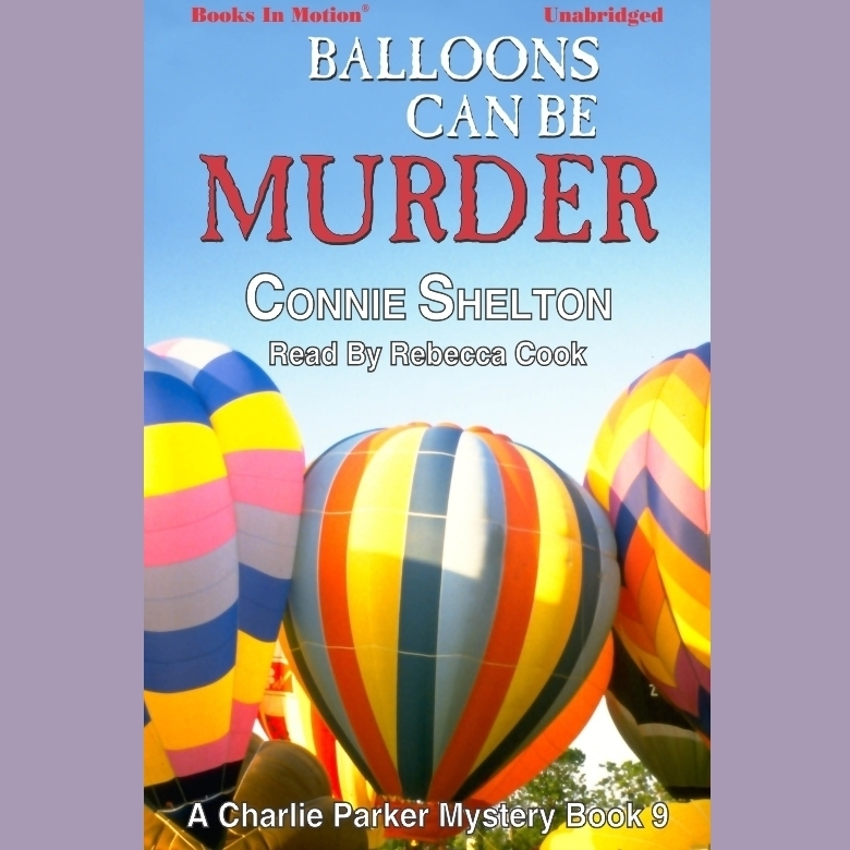 Printable Balloons Can Be Murder Audiobook Cover Art