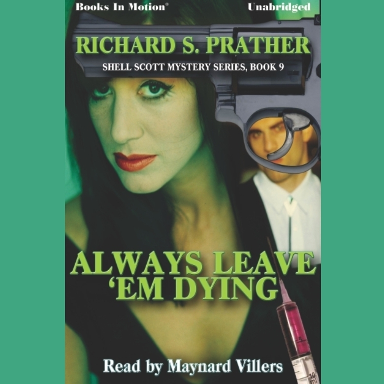 Printable Always Leave 'Em Dying Audiobook Cover Art