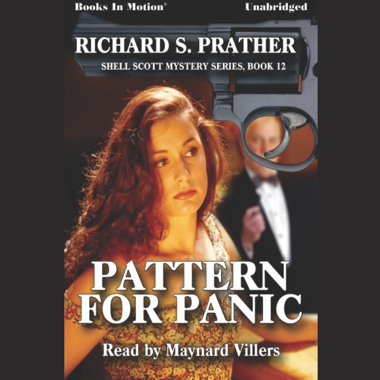 Printable Pattern for Panic Audiobook Cover Art