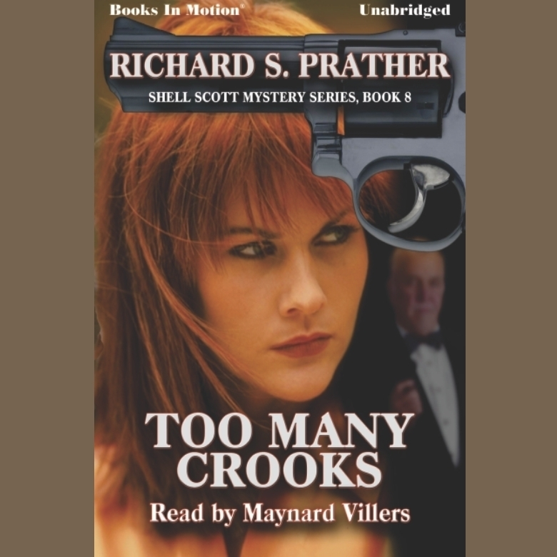 Printable Too Many Crooks Audiobook Cover Art