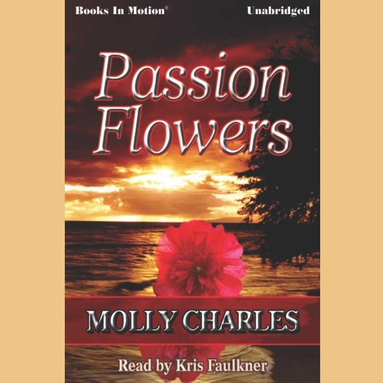 Printable Passion Flowers Audiobook Cover Art
