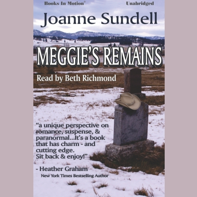 Printable Meggie's Remains Audiobook Cover Art