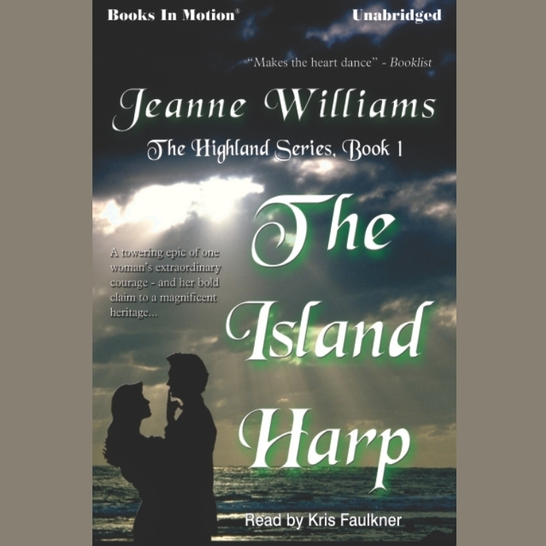 Printable The Island Harp Audiobook Cover Art