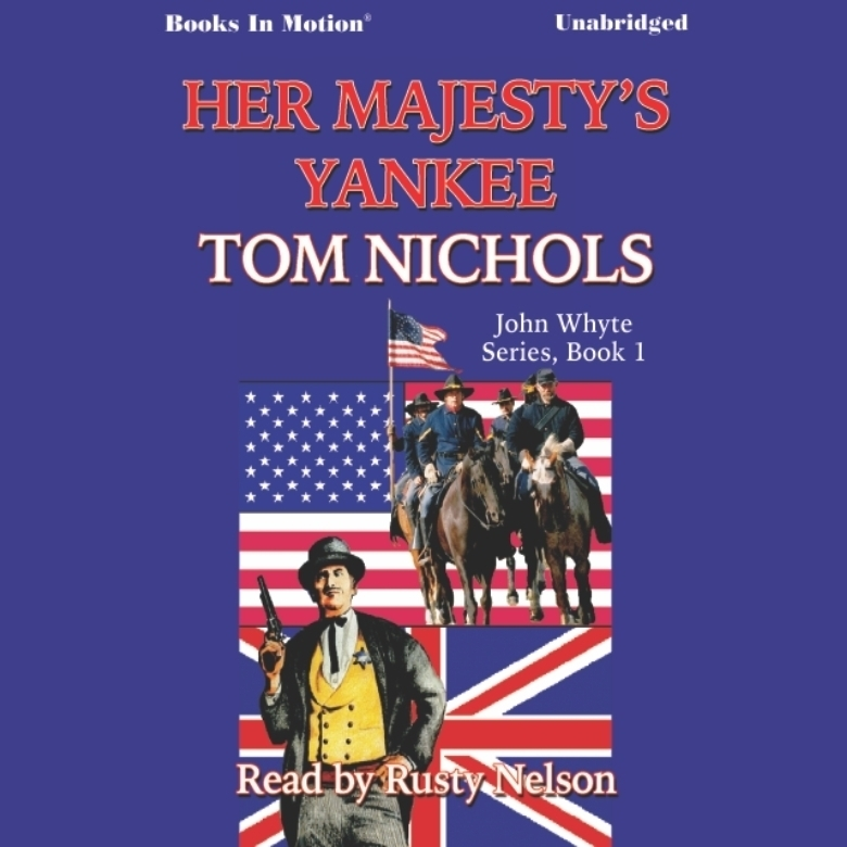 Printable Her Majesty's Yankee Audiobook Cover Art