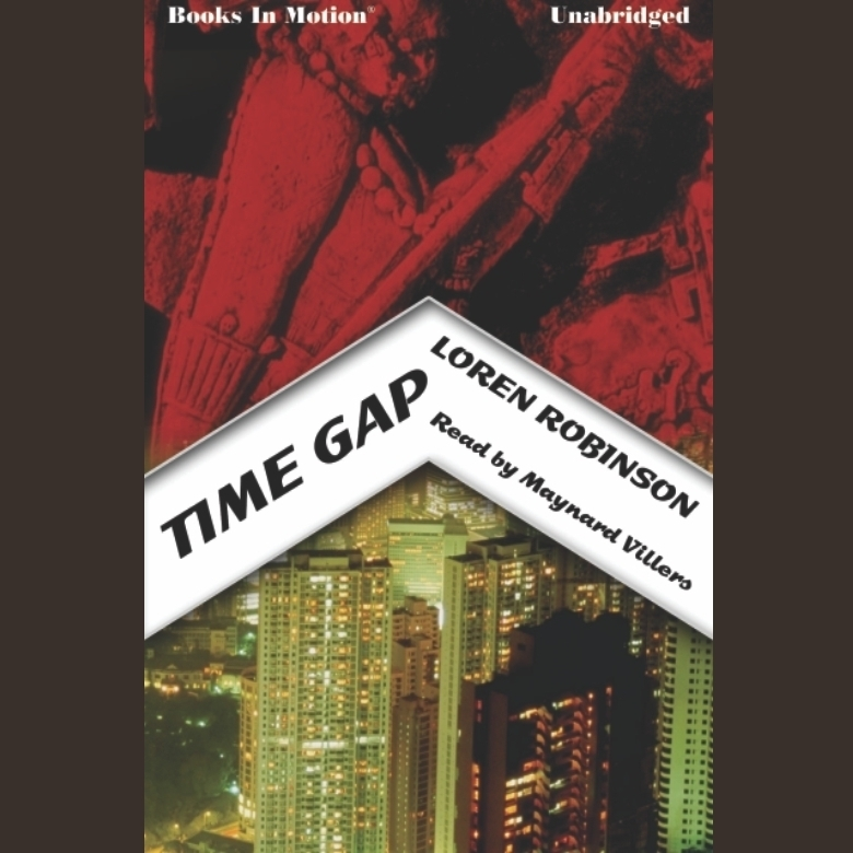 Printable Time Gap Audiobook Cover Art