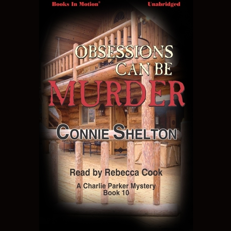 Printable Obsessions Can Be Murder Audiobook Cover Art