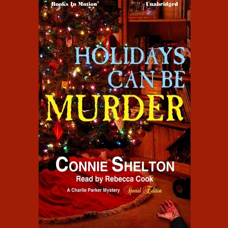 Printable Holidays Can Be Murder Audiobook Cover Art