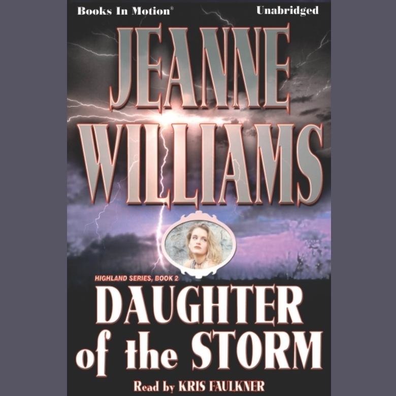 Printable Daughter Of The Storm Audiobook Cover Art