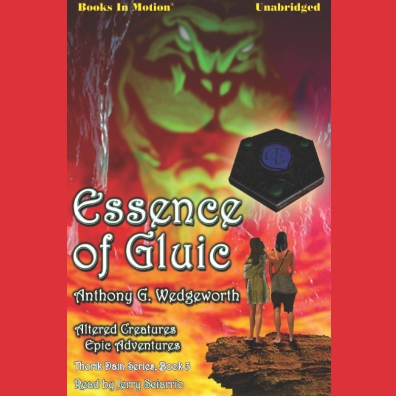Printable Essence of Gluic Audiobook Cover Art